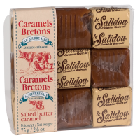 """Karamellbonbon mit gesalzener Butter, im """"Patissier"""" Etui"""