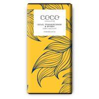 Dunkle Schokolade (60%), Gold, Weihrauch & Myrrhe
