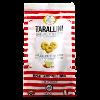 Tarallini mit Olivenöl, Chili und Knoblauch