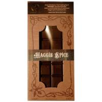 Dunkle Schokolade (58%) mit Haggis Gewürz, BIO