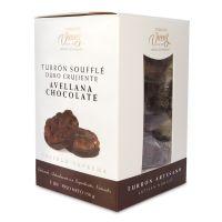 """Haselnuß-Schokoladen """"Soufflé"""" Nougat"""