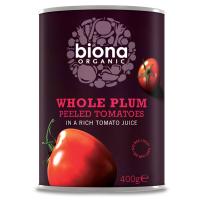 Biona Ganze Dattel-Tomaten, geschält, BIO