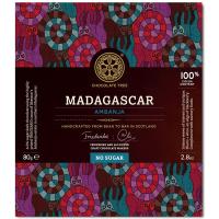Dunkle Schokolade Madagascar (100%), ohne Zucker, BIO