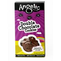Doppelte Schokoladen Kekse