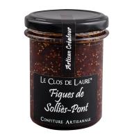 Konfitüre aus violetten Feigen der Provence / de Solliès-Pont