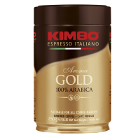 Kimbo Espresso Aroma Gold 100% Arabica, gemahlen, Dose, 250 g