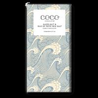 Dunkle Schokolade (60%) mit Haselnuss & Isle of Skye Meersalz