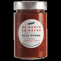 """""""Alla Norma"""", Tomatensauce mit Auberginen"""