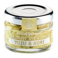 Senf mit Yuzu Frucht und Nori Algen