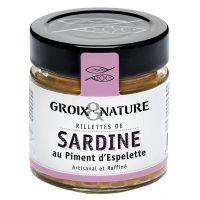 Sardinen Rillette mit Piment d'Espelette