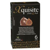 Feige mit Pralinenfüllung und Schokoladenüberzug, 6er-Packung