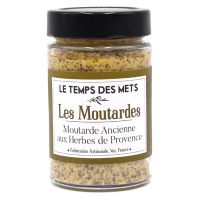 Traditioneller Senf mit Kräuter der Provence, 190g