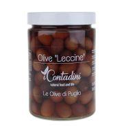 Rote Leccine Oliven, 550g