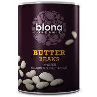 Biona Butter Bohnen in Wasser, BIO