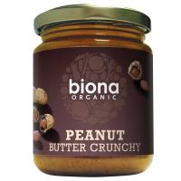 Biona Erdnußbutter, crunchy, ungesalzen, BIO