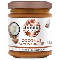 Biona Kokosnuss-Mandelbutter, crunchy, BIO