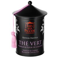 Grüner Tee mit Vanille und Kirschblüte, BIO